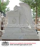 Statue en marbre sculpté à la main pour la Maison et jardin (SK-2192)