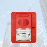 UL Lamp van de Stroboscoop van de Hoorn van de Stroboscoop van het Systeem van het alarm Sounder Rode