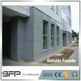 Rivestimento grigio della facciata del granito di colore di pietra della facciata G603 di prezzi all'ingrosso