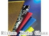 Vetro di stampa della matrice per serigrafia, vetro colorato lustrato, vetro dello smalto con l'alta qualità (JINBO)