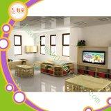 Intera mobilia di legno della scuola materna dei bambini di asilo del centro di guardia di disegno