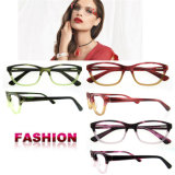 Marco de las lentes del diseñador de los marcos ópticos de Eyewear del acetato hecho a mano el último