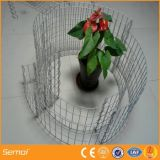 熱いすくいの電流を通された庭によって溶接されるGabionの塀