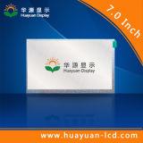 Promotion de 7 pouces numérique 1024x600 panneau LCD de couleur RVB