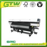 Oric DS1804-E Wide-Format impresora solvente Eco con cuatro cabezales Dx-5
