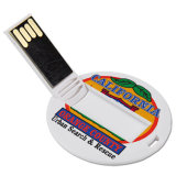 Cartão redondo USB Key Round Card USB Stick