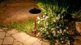 Lumière extérieure DEL G4 de véhicule de lumière d'horizontal de lumière de jardin
