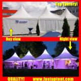 Tenda trasparente del Pagoda dell'alto picco della tenda libera per l'ospite di Seater delle 300 genti
