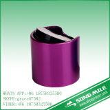 28/410 de tampão superior do disco com o colar brilhante do metal