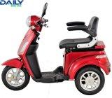 高速3の車輪のブラシレスモーターを搭載する電気移動性のスクーター