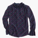 Lange Hülsen-Ausdehnungs-vollkommenes Bodysuit-Streifen-Hemd
