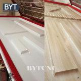 Machine en bois de presse de membrane de vide de PVC pour la porte de Module de cuisine