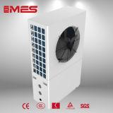 Pompa termica aria-acqua per il riscaldamento della Camera