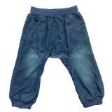 Elegante de moda barata el algodón Kid's Jeans (CFJ037)
