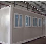 Сборные дома контейнера как временное управление