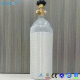 10 libras de cilindro novo de Aluminm do tanque do CO2 com a válvula Cga320 com carreg o punho