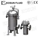 En acier inoxydable de boîtier de filtre à eau haute pression