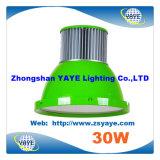 La mejores altas luz de la bahía de la venta 30W LED de Yaye 18 lámpara/bahía de la MAZORCA 30W LED Highbay/de la MAZORCA 30W LED alta con Ce/RoHS