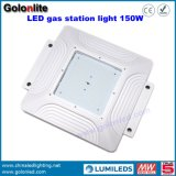 High Eficiencia 130lm / W 100W 120W 150W LED Canopy Gasolina Estación de Gasolina Iluminación LED