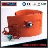 口径測定のサーモスタットを搭載するシリコーンゴムのヒーター