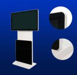 Kiosque d'écran tactile de 55 pouces avec tous dans un moniteur de contact de panneau d'écran tactile