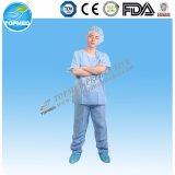 El hospital PP friega el juego con los bolsillos, azules claros/azul marino