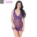 새로운 디자인 숙녀 섹시한 Sleepwear L28045-6