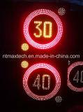 ثابت متغيّر حركة مرور سرعة إشارة محدودة