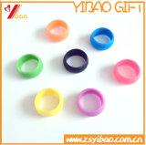 Anello variopinto del silicone di alta qualità della fascia di manopola del silicone e dell'anello di gomma (XY-HR-108)