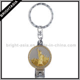 여자 선물 (BYH-10252)를 위한 형식 아연 합금 미러 열쇠 고리