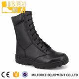 Negro de encaje botas de combate militar