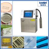 1~4 líneas impresora de la codificación de la altura de 1~20m m para el rectángulo de la leche (Leadjet-V98)