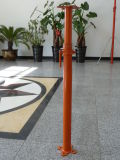 コンクリートスラブの型枠の支柱