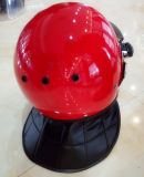 保護ヘルメットの警察はContralのヘルメットを騒がせる