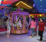 Joyeux électriques du matériel 12p d'amusement vont carrousel de gosses de rond