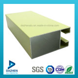Profilo di alluminio per la struttura della stoffa per tendine del portello della finestra con il formato/il colore personalizzati