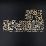 Corrección del Rhinestone de Hotfix de la piedra del vidrio cristalino de París N5 del diseño de la manera para la decoración de la ropa del traje (TP-PARISN5)