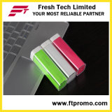 Batería colorida de la potencia del lápiz labial plástico de Hotsell (C004)