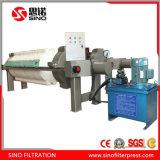 Автоматическое давление фильтра с подносом ленточного транспортера и потека