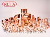 Acoplamento apropriado de cobre do Refrigeration com o batente rolado