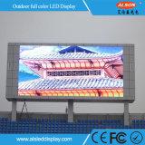Farbenreiche Bildschirmanzeige im FreienbekanntmachensP10 mit hohem IP-Grad