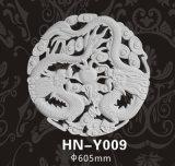 Décoration Hn-Y009 de plafond d'unité centrale architecturale de médaillons/rosettes