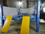 Elevación hidráulica del poste de la alineación de rueda del cilindro doble cuatro