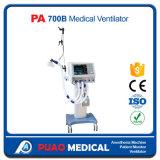 Medizinischer ICU Entlüfter der Krankenhausbehandlung-maschinell hergestellt in China