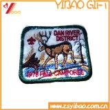 カスタムスムーズな刺繍のバッジ、刺繍パッチ(YB-EM-BRO-416)