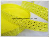 colore giallo 600d con la tessitura d'argento dei pp per i sacchetti