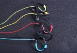 4.2 Auriculares sem fio de Bluetooth do gancho da orelha da trilha dobro do esporte