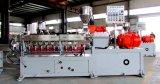 Extrudeuse de plastique d'extrudeuse de Jumeau-Vis ; Vitesse 500/600rpm de vis ; Forme de sortie 0.5kgs à 1500kgs