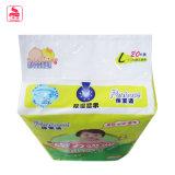 Precio barato en seco y suave 100% algodón cómodo pañal del bebé
