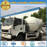 판매를 위한 소형 4 Cbm 교반기 트럭 5 M3 시멘트 믹서 트럭